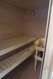 Sauna aus Massivholz Sauna Svea