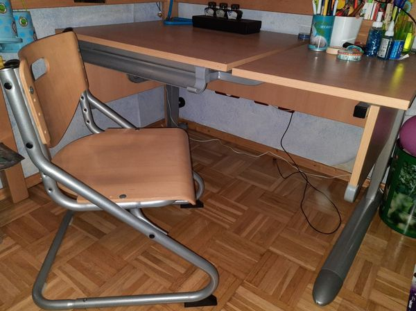 Kettler Schreibtisch Comfort II Stuhl