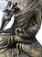 Bronze Buddha handgemacht