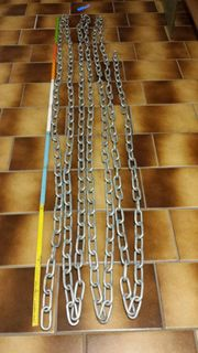 Starke Stahlkette 14m