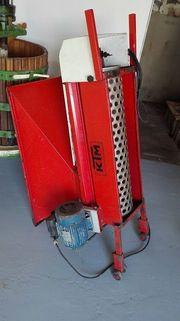 Entbeermaschine bzw Entrappungsmaschine