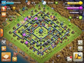 Clash of Clans MAX coc rh 13