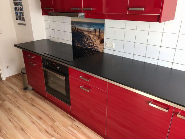 Ikea Küche rot Hochglanz