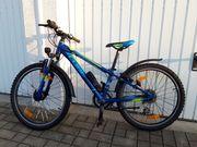 Fahrrad MTB Cube 24 mit