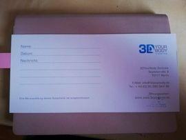 Tickets / Eintrittskarten - 3D YOUR Body Gutschein Geschenk