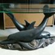 Tisch Delphin