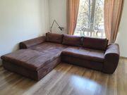 Sofa aus strapazierfähigem Mikrofaser inkl