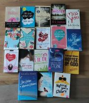 Paket mit 18 Liebes- Frauenromanen
