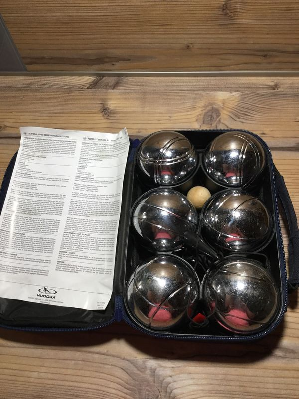 Boule Set 6 Metallkugeln