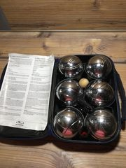 Boule Set 6 Metallkugeln