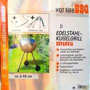BBQ Kugelgrill EDELSTRLL neu und