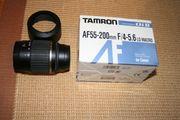 TAMRON AF55-200mm Objektiv für Canon