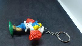 Taschen, Koffer, Accessoires - Schlüsselanhänger Cheerleader Schlumpfine