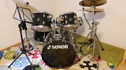Schlagzeug von Sonor komplett incl