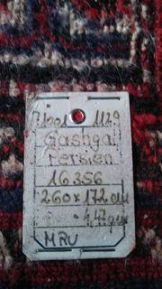 Persian Handgeknüpfter Gashgai Teppich Rot