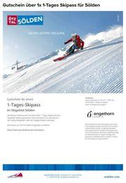 Gutschein für einen Tages-Skipass für