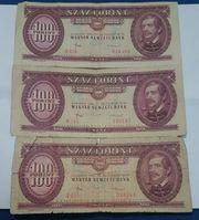Forint Geldscheine