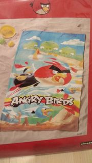 Angry Birds Badetuch