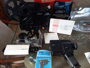 Revue Filmkamera TM6 und Eumig