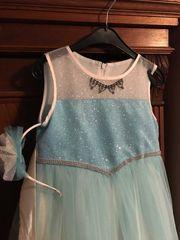 Elsa Mädchen Kleid bzw Kostüm