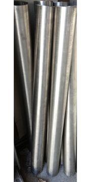 Edelstahlrohre 6 cm Durchm 73