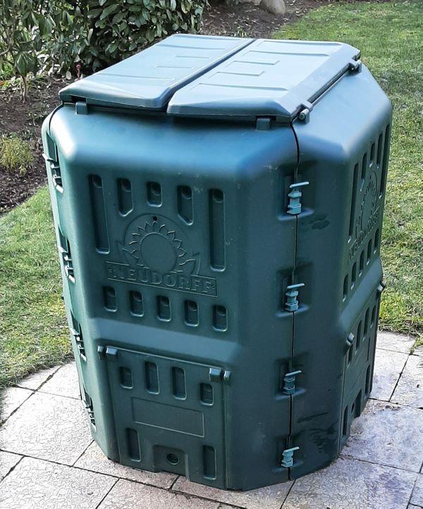 Neudorff Thermo-Komposter grün 105x85cm Schnellkomposter