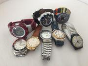 Konvolut Herren und Damen Armbanduhren