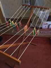 Alter Wäschehänger aus Holz