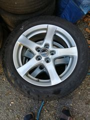 4 Alufelgen mit Reifen 205