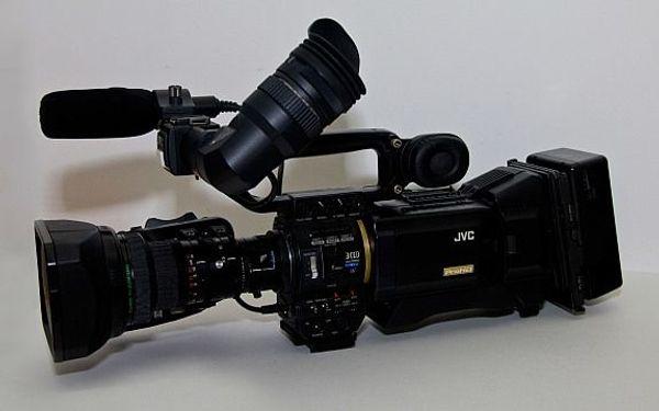 JVC GY-HD201E ProHD HDV Schulter -