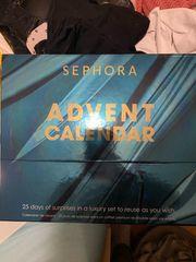 Sephora Adventskalender LEER