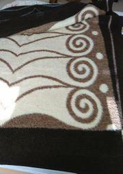 Decke Bettüberwurf aus Plüsch