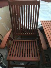 Gartenmöbel Bank 2 Klappstühle Tisch