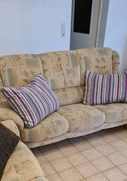Couch Sitzgruppe 3er 2er und