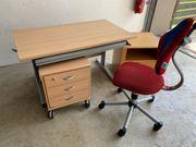 PAIDi Schreibtisch Rollcontainer Stuhl Nachtisch