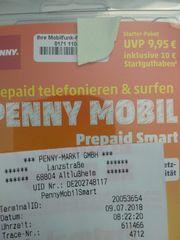 SIM Karte Penny Mobil D1