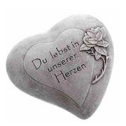 Kleines Herz Urnengrab Du lebst