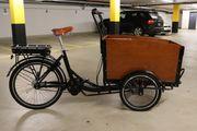 Elektro Cargo Bike gebraucht