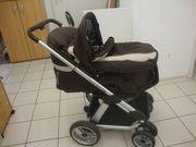 Kombi-Kinderwagen ABC-Design Zoom Einsitzer dark-brown