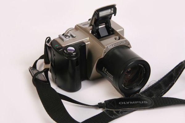 Digitalkamera Olympus Camedia C-2500L Sammlerstück-defekt