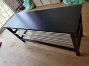 Ikea Tjusig Bank in schwarz