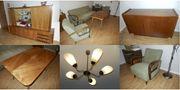 Wohnzimmer komplett Original 50er-Jahre Vintage