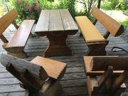 Rustikale Garten Sitzgruppe