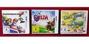 3x Nintendo 3DS Spiele Yoshis