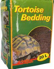 Schildkröten Erde und Buchenholzstücke