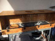 Holz Terrarium 120x40x40