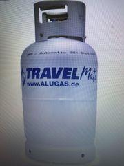 Einbau Alugastankflasche