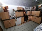 Eckküche buche mit E -Geräten