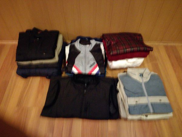 2 Kartons diverse Herrenbekleidung Gr