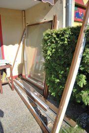 Kunstoff Terassenfenster mit Schiebetür